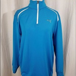 Ladies Puma Cell Golf Pullover